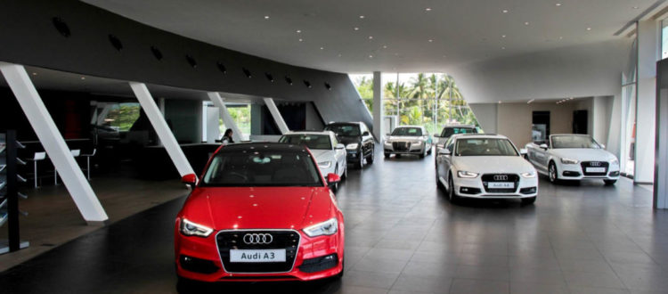 Hệ thống máy tạo mùi thơm cho showroom ô tô