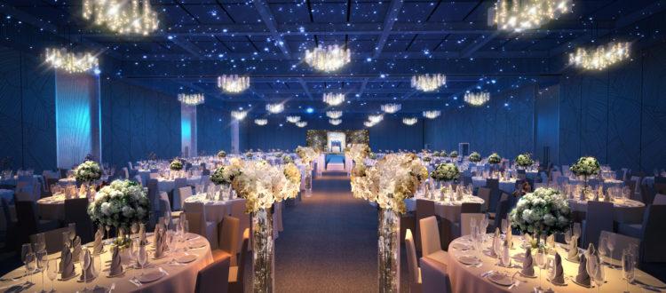 Hệ thống máy tạo mùi thơm cho trung tâm tổ chức tiệc cưới