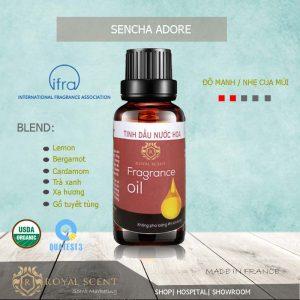tinh dầu sencha adore air aroma